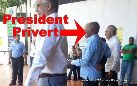 FLASH Haiti President Privert LOPITAL Santiago Republique Dominicaine