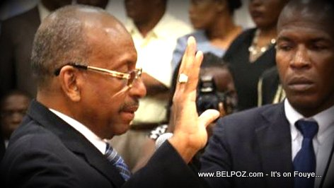 Leopold Berlanger Swearing in Electoral Council