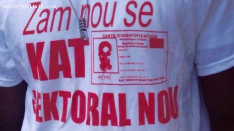 Haiti Elections - Zam nou se Kat Elektoral Nou