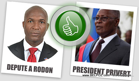 Depute A Rodon Bien-Aime vs President Privert