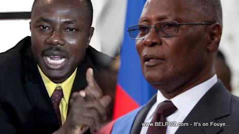 Haiti President Privert - Candidate Moise Jean Charles