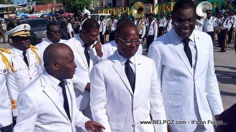 PHOTO: Haiti - President Privert Arcahaie - 18 Mai 2016
