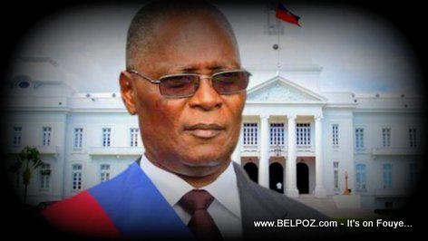 PHOTO: Haiti Interim President Jocelerme Privert