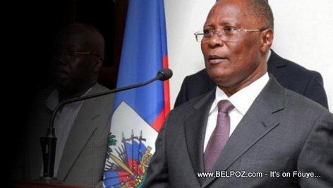 Haiti Interim President Jocelerme Privert