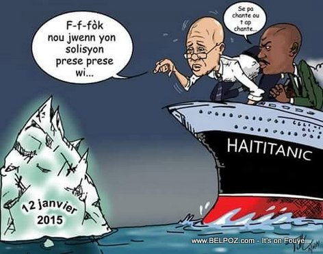 HaiTitanic rive devan Iceberg 12 Janvier 2015