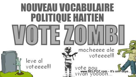 VOTE ZONBI - Nouveau Vocabulaire Politique Haitien
