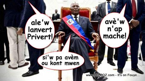 Haiti: Senatè ak Depute DIVIZE sou Presidence Privert