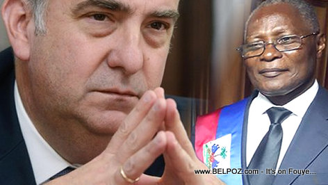 PHOTO: Haiti - Kenneth Merten, President Jocelerme Privert