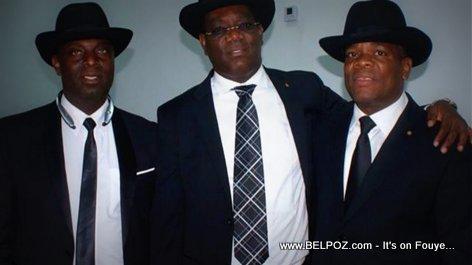 PHOTO: Haiti - Les Senateurs du Nord Est, Jacques Sauveur Jean, Ronald Lareche, Jn Baptiste Bien Aime