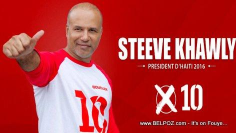 Steeve Khawly, Candidat a la Presidence 2016