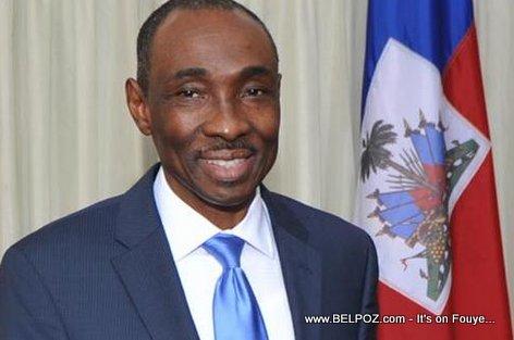PHOTO: Haiti Premier Ministre Evans PAUL