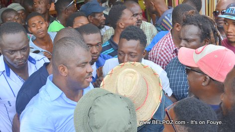 Haiti Depute Rony Celestin, Candidate for Senator