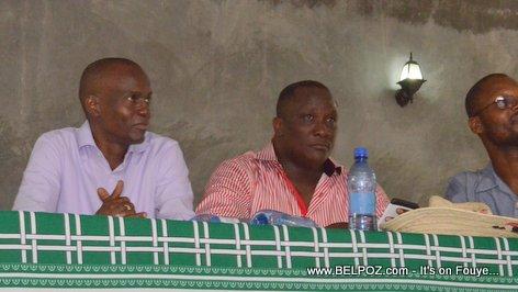 Jovenel Moise,Georges Garnier PHTK Pre-Campaign Meeting - Hinche Haiti