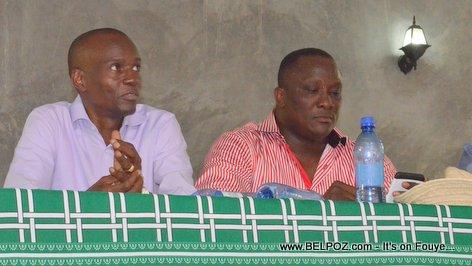 Jovenel Moise, Willot Joseph PHTK Pre-Campaign Meeting - Hinche Haiti