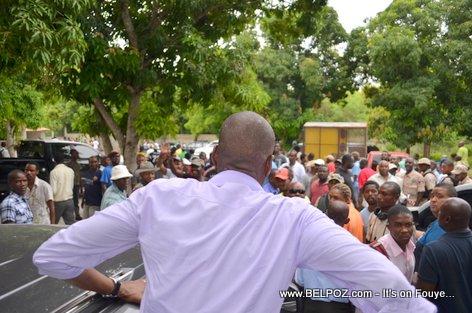 Jovenel Moise - PHTK Pre-Campaign Meeting - Hinche Haiti