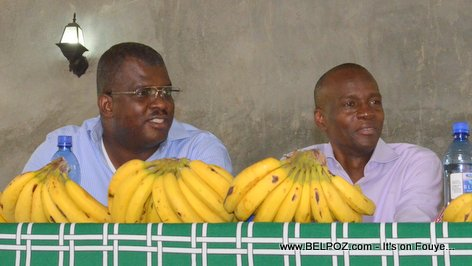 Jovenel Moise, Rony Celestin - PHTK Pre-Campaign Meeting - Hinche Haiti