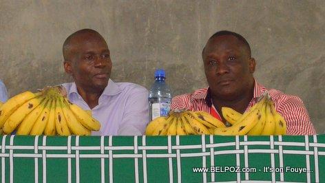 Jovenel Moise, Willot Joseph - PHTK Pre-Campaign Meeting - Hinche Haiti