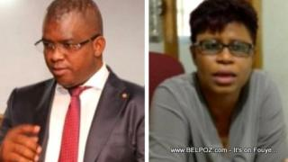 AUDIO: Ratification PM Ceant, Senateur Rony Celestin Reponn question journaliste Marie Lucie Bonhome
